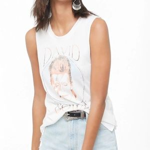 Tops - David Bowie Muscle Tee